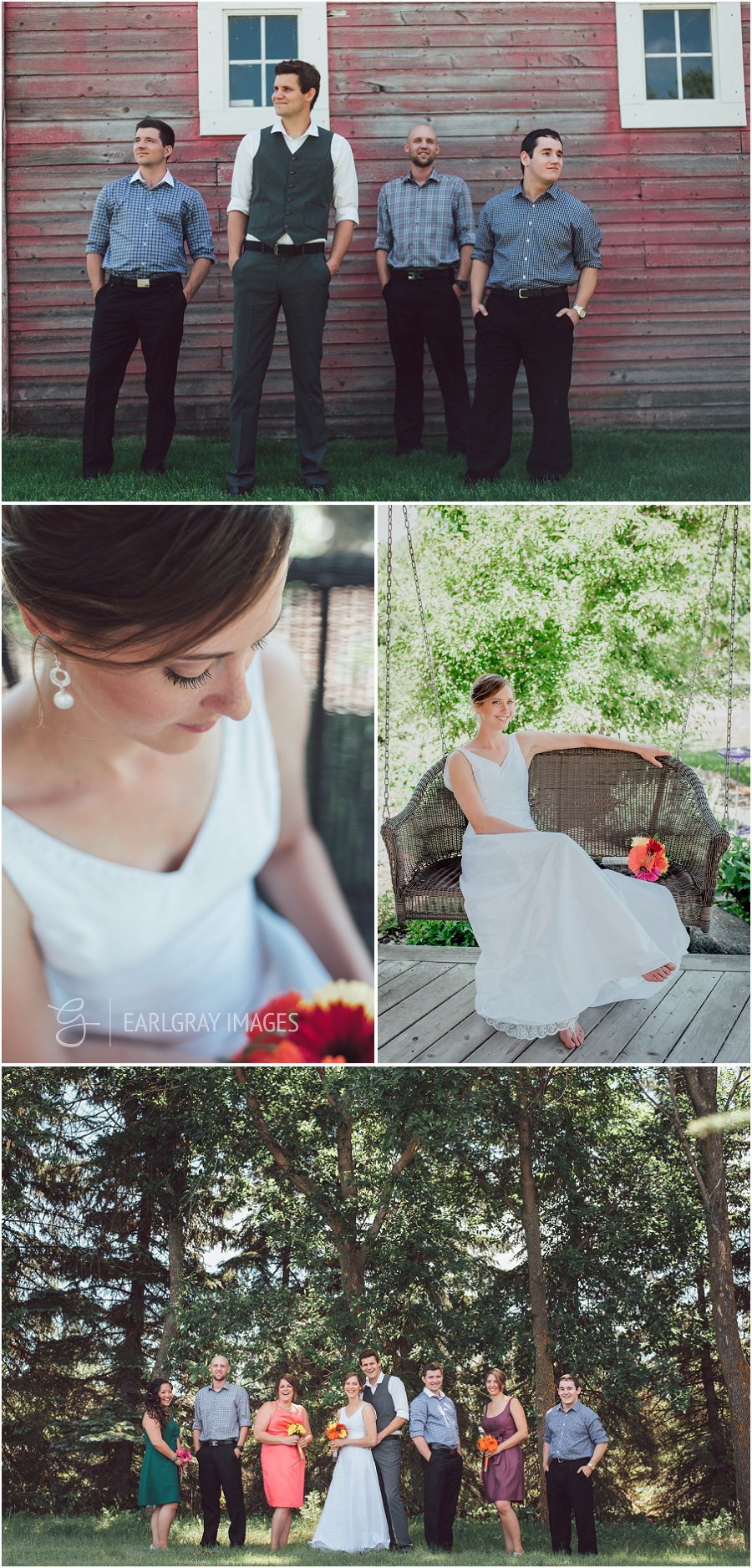 edmonton backyard tent wedding tim and sara earlgray images
