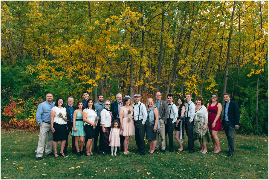 River Valley Edmonton Wedding An Intimate Forest Wedding Earlgray Images