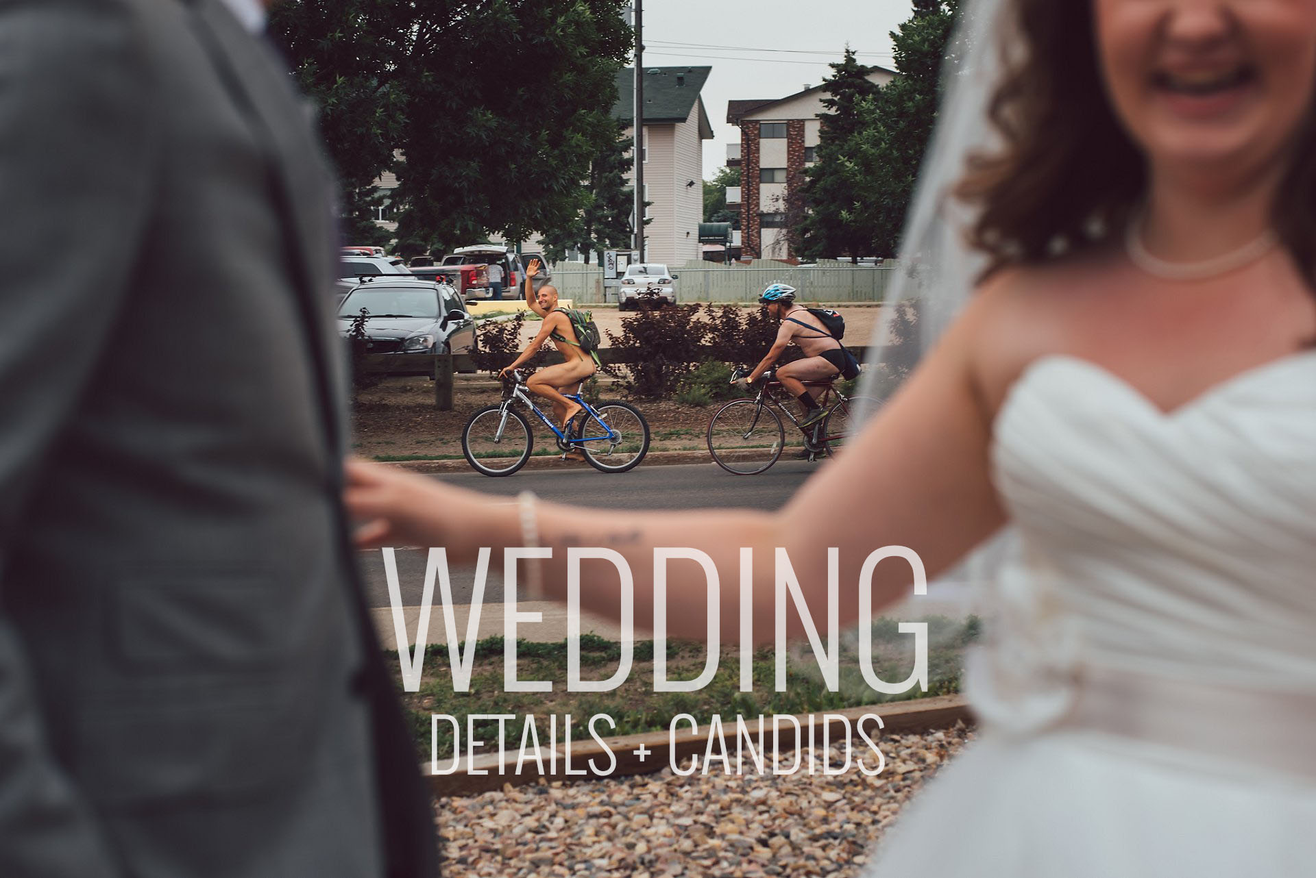 Fun Edmonton Wedding Photos