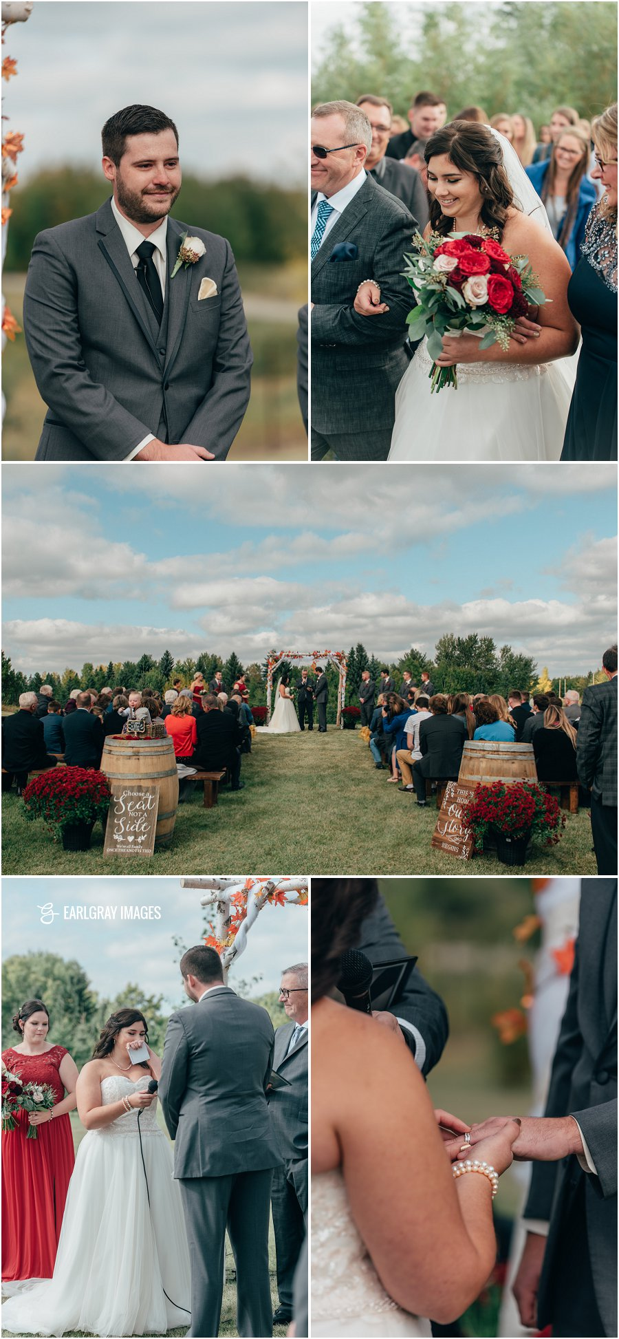 Stony Plain wedding
